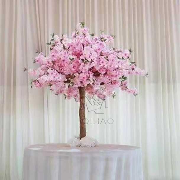 Source Wholesale Silk Sakura Table Desk Centerpiece Mini Artificial Indoor Cherry Blossom T Artificial Cherry Blossom Tree Peach Blossom Tree Tree Centerpieces