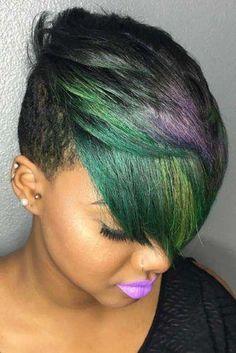 39 Tägliche kurze Frisuren für schwarze Frauen - 14. April 2019 um 04:57 Uhr