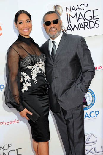 Laurence Fishburne and Gina Torres | 10 CELEB COUPLES WHO FELL IN LOVE ON SET