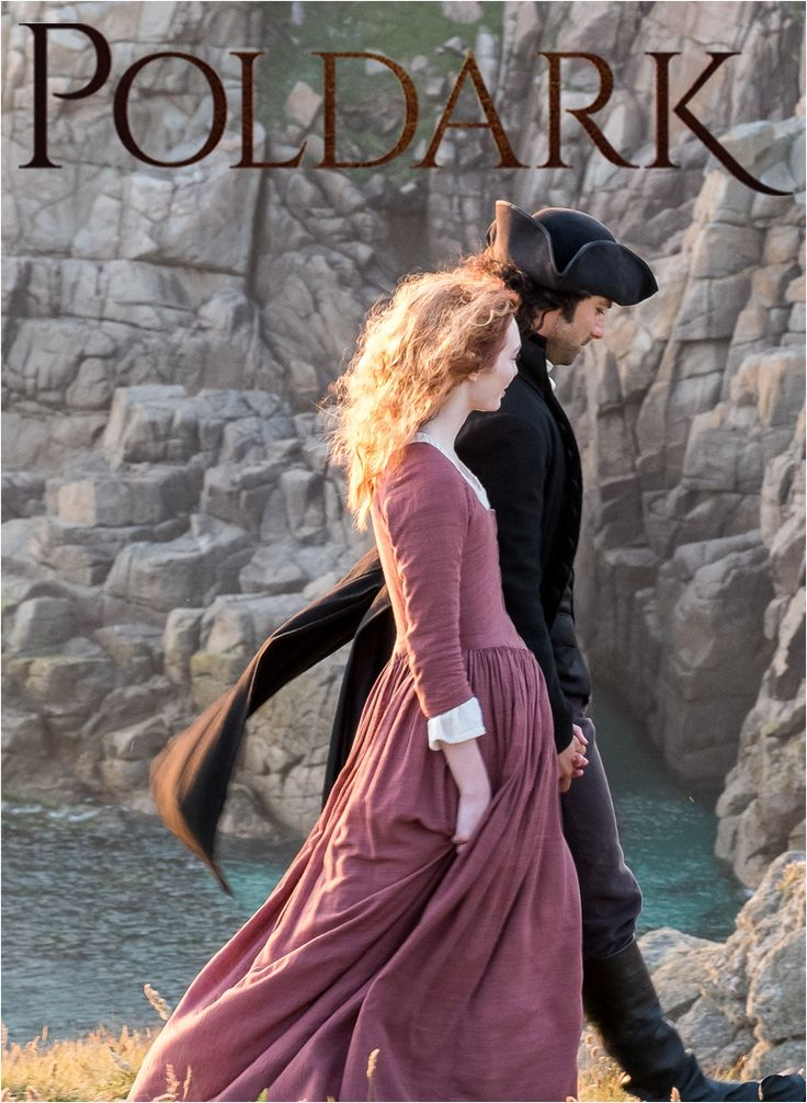 Our favourite couple #Romelza walking the beautiful Cornish coast. What does the future hold for #Poldark? #SeriesTwo