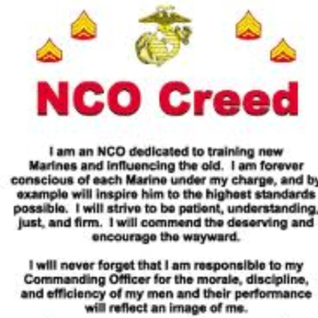 The Creed of the Noncommissioned Officer Essay Sample
