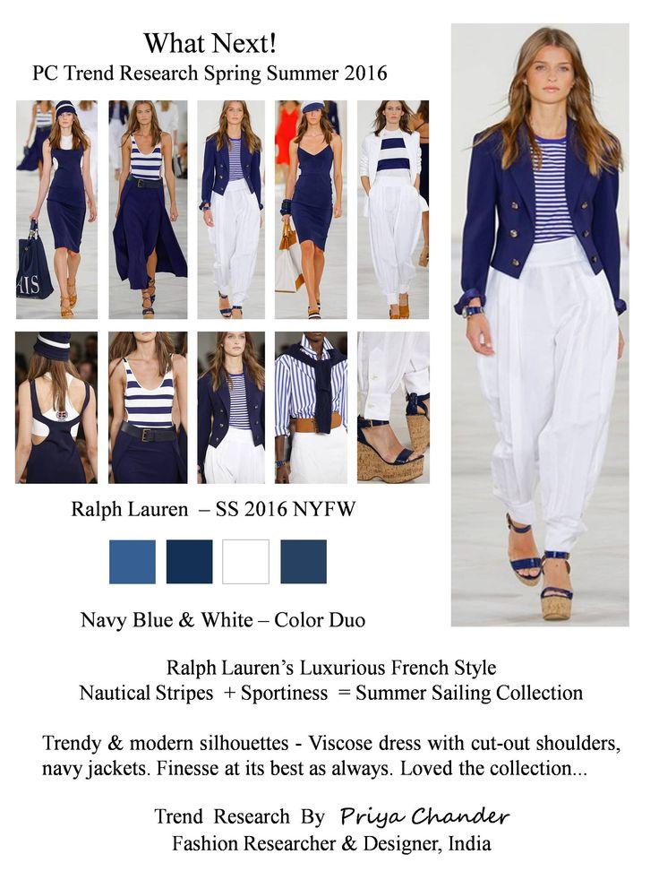 #fashion #art #design #pctrendresearch #ralphlauren #SS16 #NYFW #nautical #navyblue #navy #viscose #cutoutdress #modern #fashiontrends2016 #fashionindustry #fashionnewslive #fashionweek #fashionnews #white #maxidresses #creative #dresses #stripe #colorduo #sporty #lifestyle