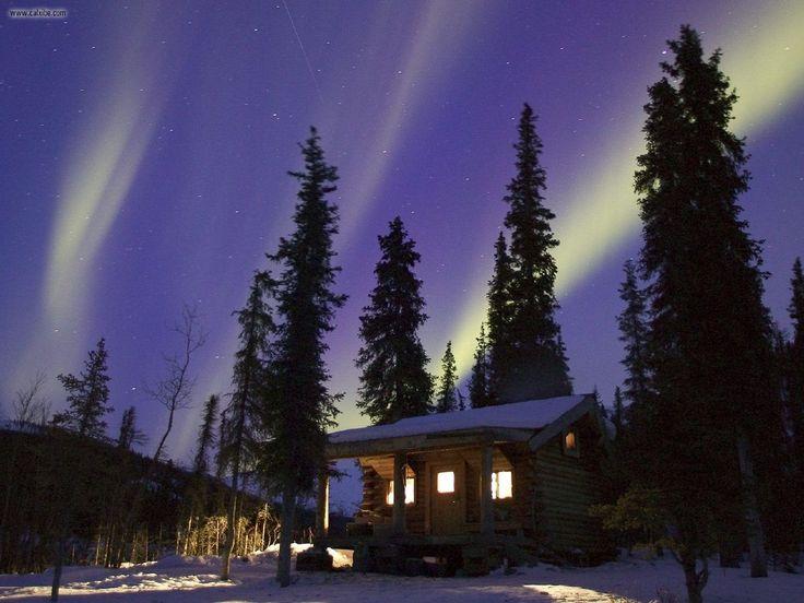 Cabin in Alaska