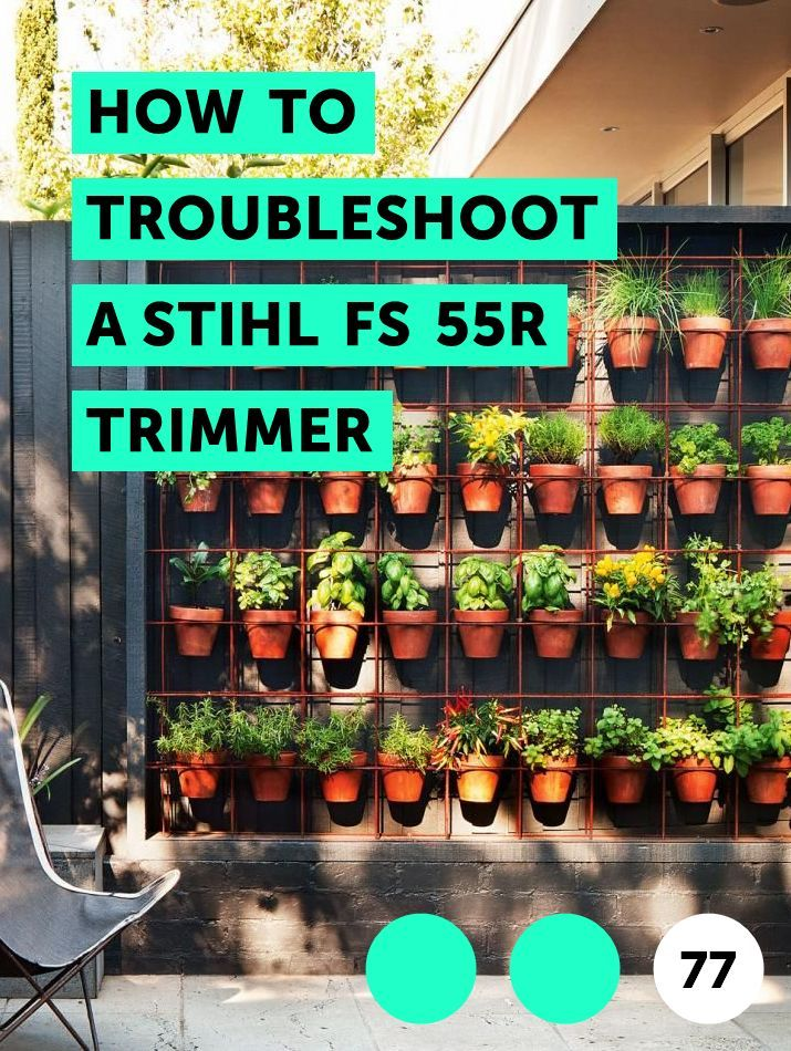 How To Troubleshoot A Stihl Fs 55r Trimmer The 55 Is Straight Shaft And Brush Cutter Designed Let You Easily Maneuver It Around