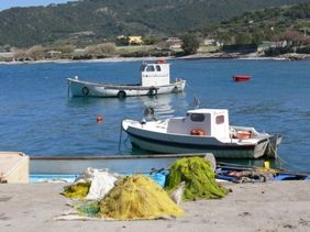 Kamiros Scala on Rhodes island, in Greece