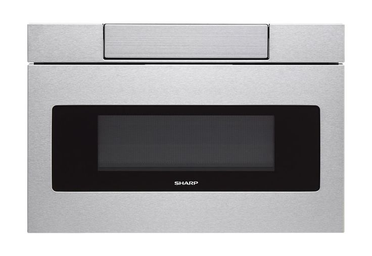 Sharp Microwave Drawer Oven, 24 in. 1.2 cu. ft. 1000W Stainless Steel