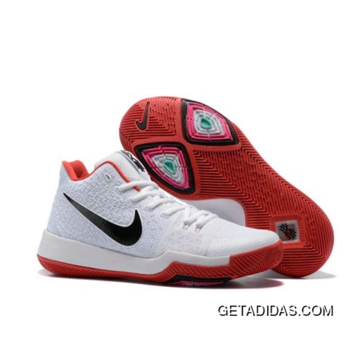 https://www.getadidas.com/new-nike-kyrie-3-white-black-red-basketball-shoes-for-sale.html NEW NIKE KYRIE 3 WHITE BLACK RED BASKETBALL SHOES FOR SALE Only $98.23 , Free Shipping!