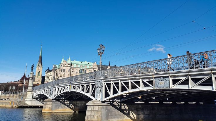 The Djurgården island has been connected to the Östermalm district through a bridge for centuries. The story is not so simple, though.
