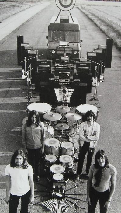 Pink Floyd. S) Have always been a Pink Floyd addict! Heard DSOTM at 14 and that was it.. true love forever.