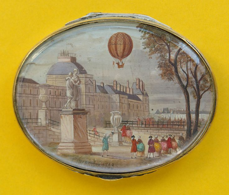 18th century snuff box:
