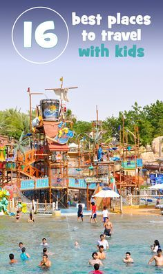 Escape with your kids by plane or car to one of these family friendly hot travel spots.