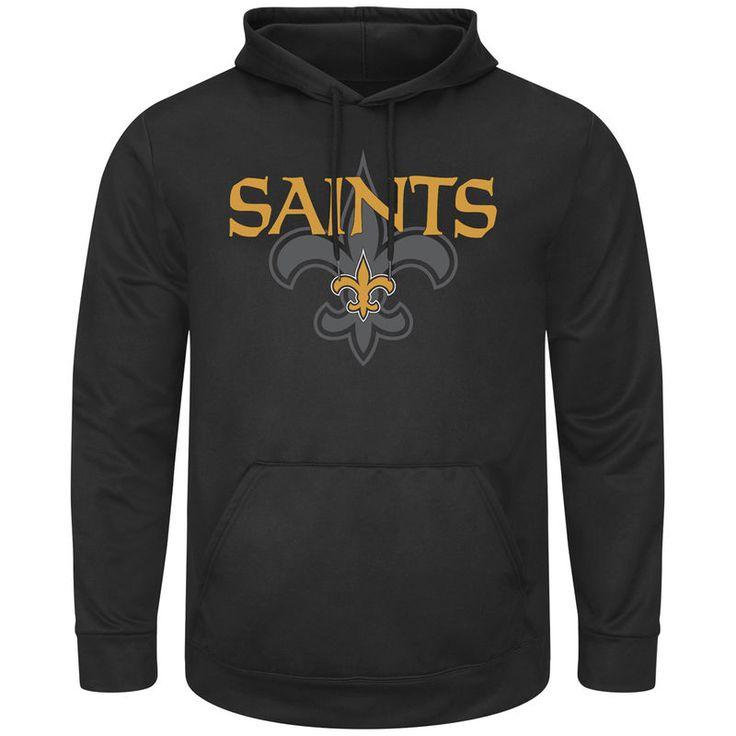 New Orleans Saints Pick Six Pullover Hoodie - Black