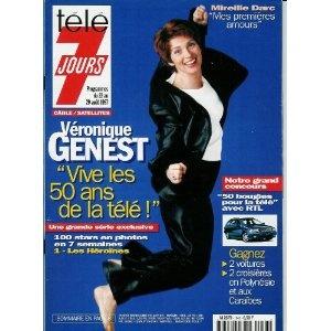 Télé 7 jours - n°1943 - 23/08/1997 - Véronique Genest / La série les 50 ans de la télé : 1. Les héroïnes [magazine mis en vente par Presse-Mémoire]