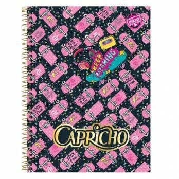 Caderno 200 folhas CAPRICHO  Tilibra