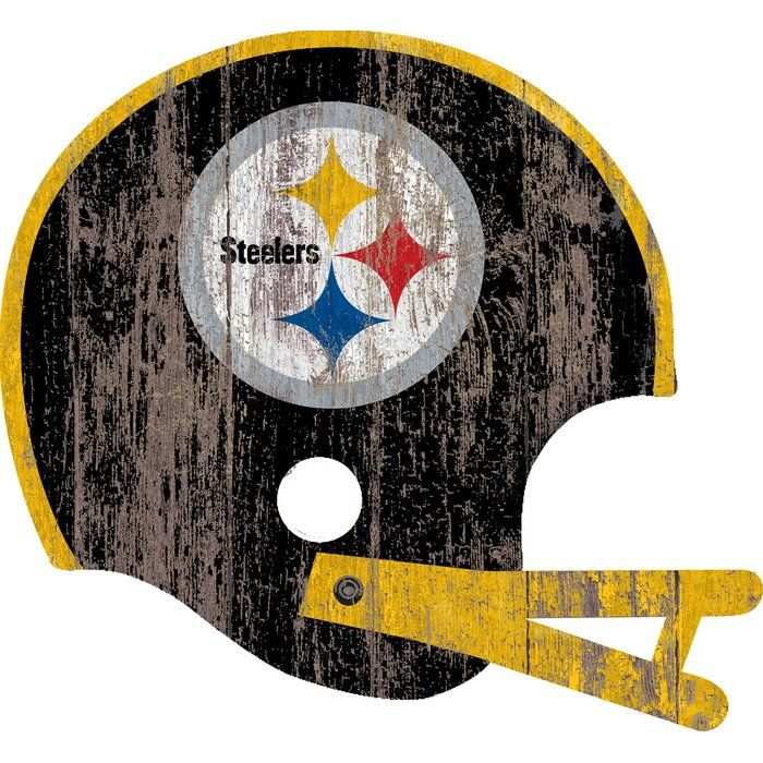 Nfl Wall Decor Steelers Sign Steelers Pittsburgh Steelers