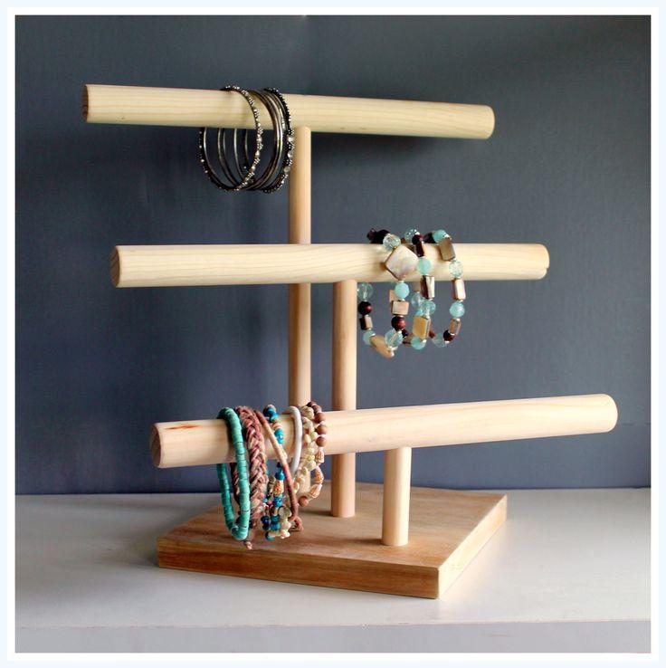 Three Tier Jewelry Watch & Headband by TheWoodshopsDaughter, $45.00