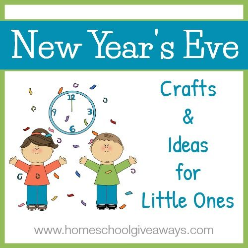 New Year's Eve Crafts & Ideas for Little Ones