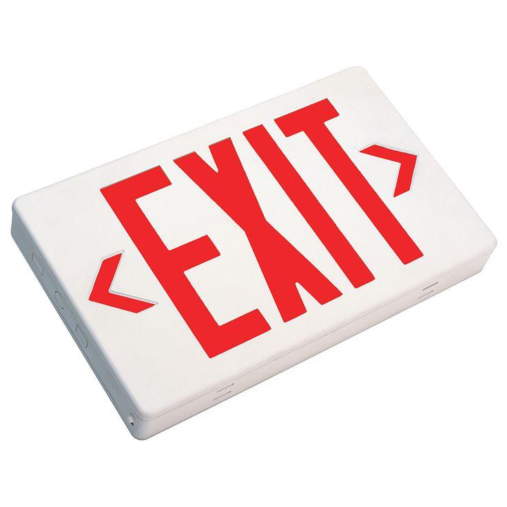 Lithonia Emergency Egress Lighting: Best 25+ Exit Sign Ideas On Pinterest