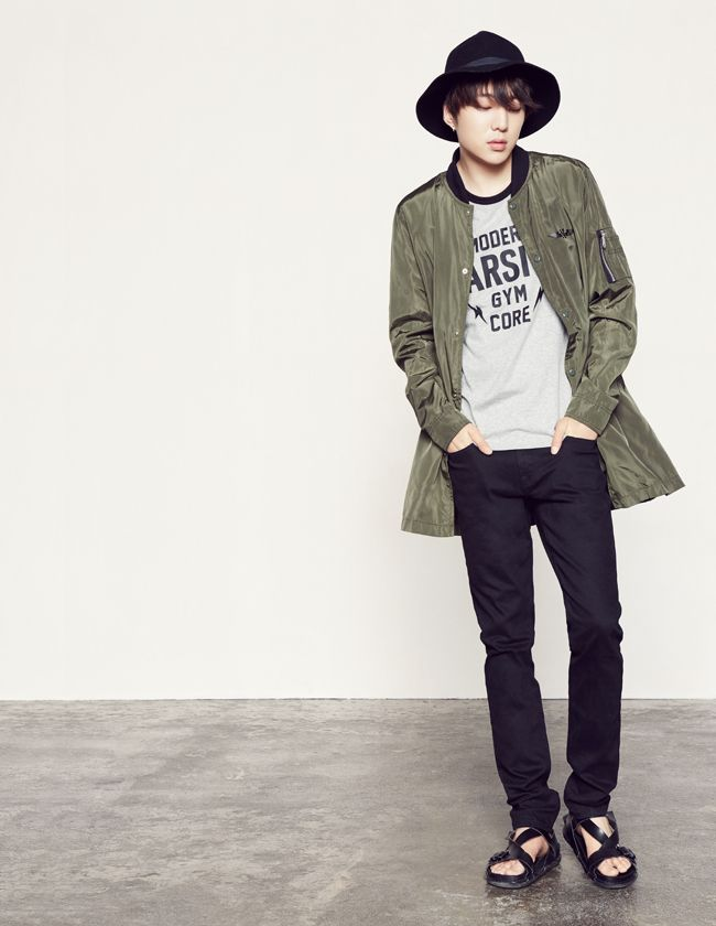 KANG SEUNGYOON x WINNER | NII NEW FALL 2015 COLLECTION