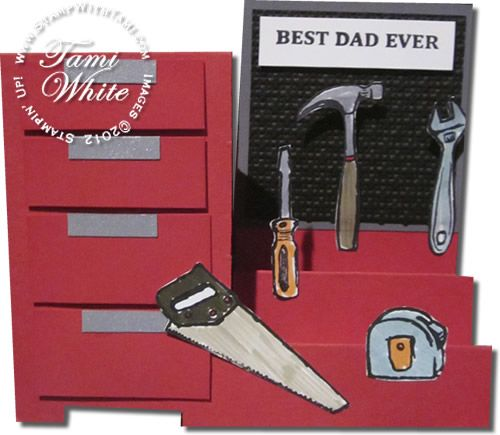 Lisa S Tool Time Father S Day Card: Stampinup Totally Tool - Google Search