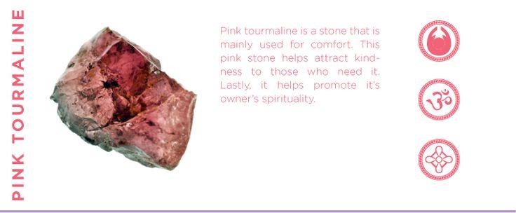 Pink Tourmaline - Comfort, Kindness, & Spirituality