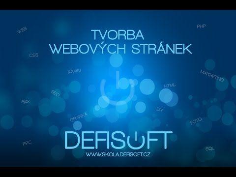 (7) tvorba web stránky - YouTube