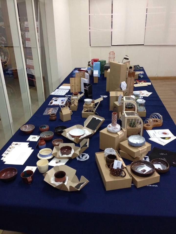 Design Product UPH, exhibition, the Craft Table. Foto by Rio Ferdinand