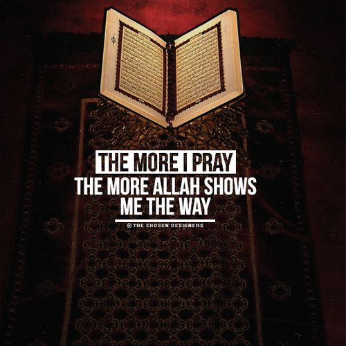 Pray, pray, pray! #Pray #Faith #Islam