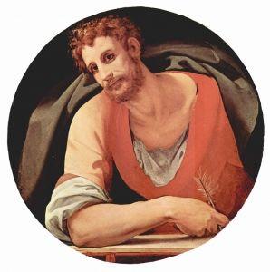 St. Mark - Agnolo Bronzino - The Athenaeum
