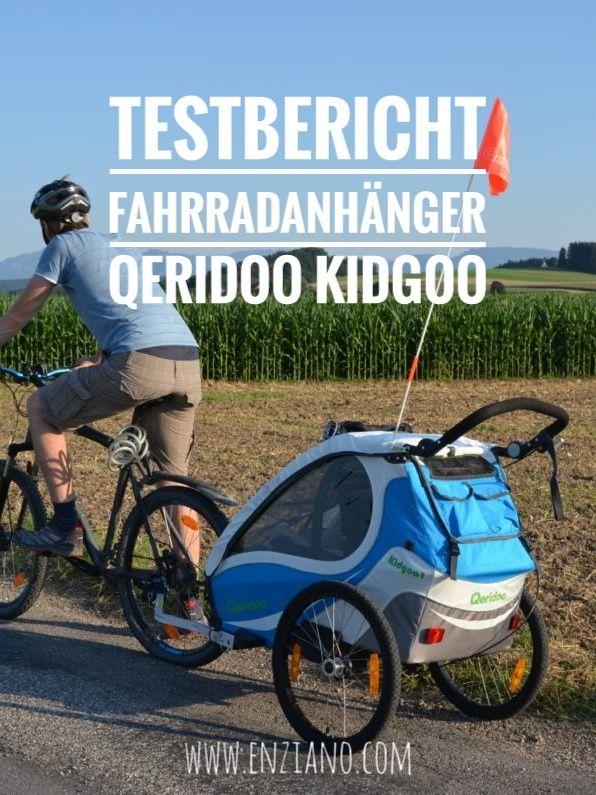 Testbericht Fahrradanhanger Qeridoo Kidgoo Fahrradanhanger