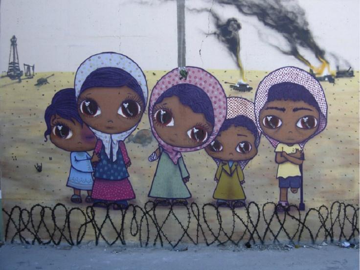 Artista Brasileira nascida em São Paulo ganha atenção do mundo artístico por fazer obras meigas voltadas ao mundo infantil.   Seus quadros estão expostos na galeria inglesa The Outsiders (em londres).Mas se quiser conferir os trabalhos da artista pode entrar em seu site: http://www.ninapandolfo.com.br/