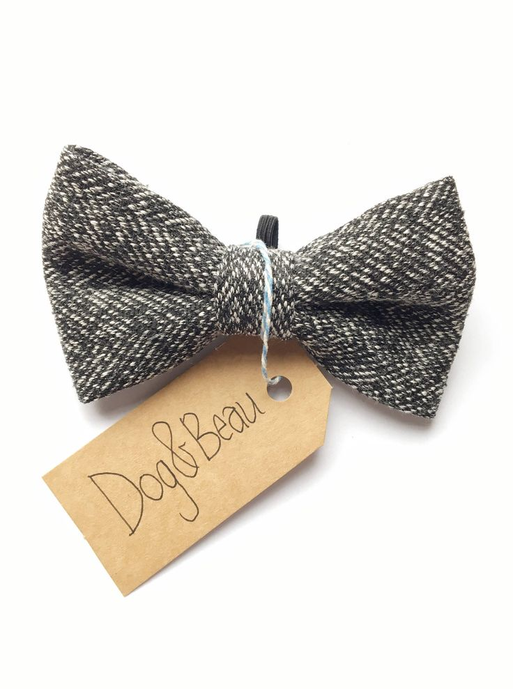 A personal favorite from my Etsy shop https://www.etsy.com/uk/listing/545699470/dog-bow-tie-tweed-dog-bow-tie-wool-dog