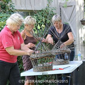 thebranchranch.ca willow weaving workshops
