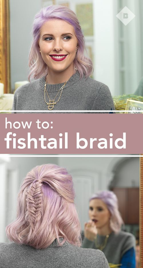 We know that a fishtail braid looks complicated, but it's actually easy to create and seriously stylish to boot. Whether you dress it up, keep it messy, or use it to add some interest to your usual half up pony, a fishtail braid is a guaranteed statement. Click through to learn how to fishtail braid on short hair, long hair, and everything in between with our easy tutorial.
