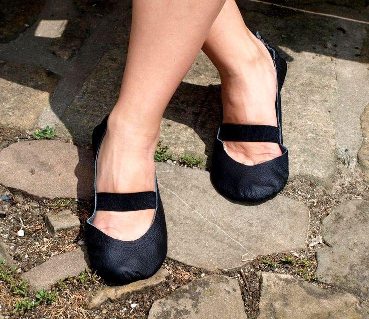 "Barefoot baleríny ""Elegantné čierne"""