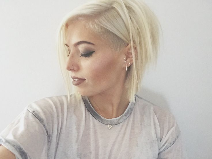 Undercut Hairstyles: 1000+ Ideas About Undercut Bob On Pinterest