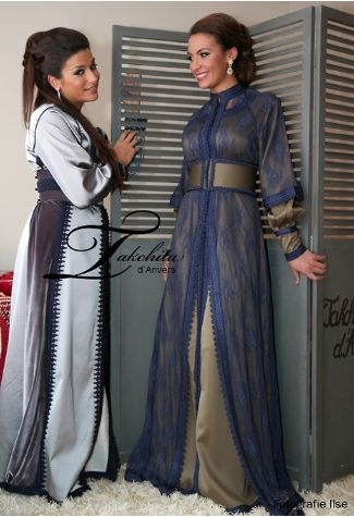 Arab fashion.