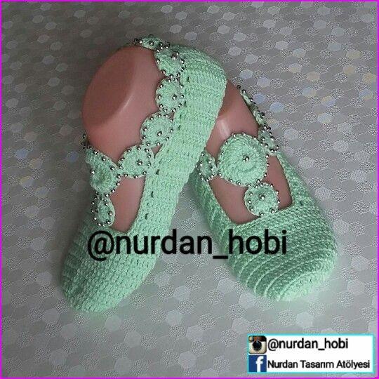 38 numara suyeşili incimotifli patik #patik #çetik #örgüpatik #motifliincilipatik #çeyizlik #gelinceyizi #çeyizsandığı #hediyelik #patikmodelleri #slipper #knittedslippers #crochet #handmade #knitting