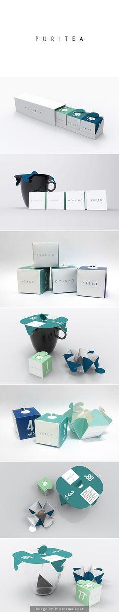 packaging / package design   Puritea by Vinicius Hideki