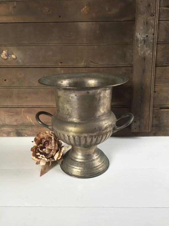 Vintage Silver Plate Ice Bucket / Trophy by TheVicarsDaughterCo