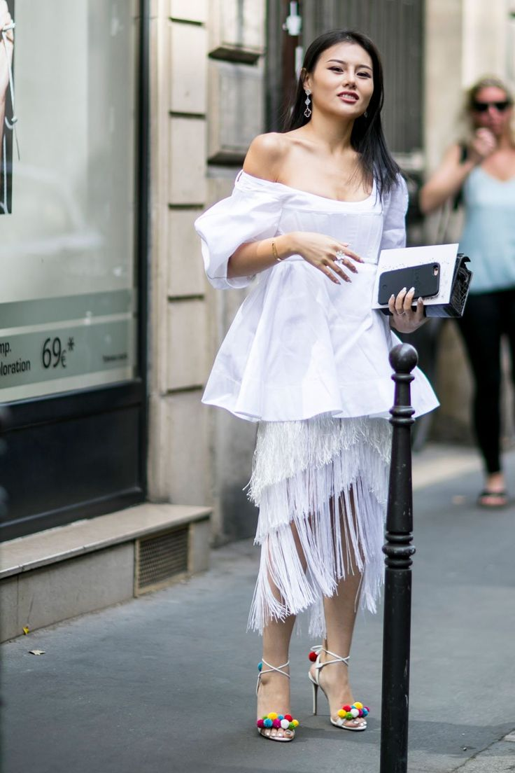 Fringe | Fresh Outfit Ideas Straight From the Streets of Paris #StreetStyle