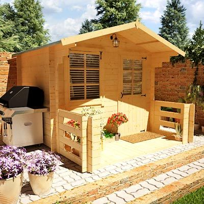 BillyOh Pathfinder 'Nook' Log Cabin at £729 from Gardenbuildingdirect