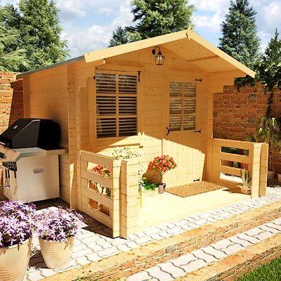 BillyOh Pathfinder 'Nook' Log Cabin at £729 from Gardenbuildingdirect