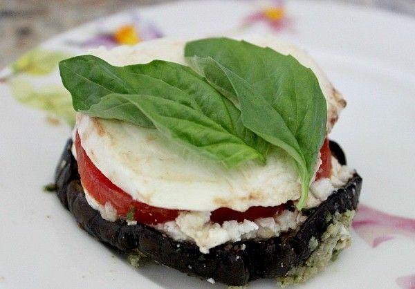Eggplant caprese | Appetizers | Pinterest
