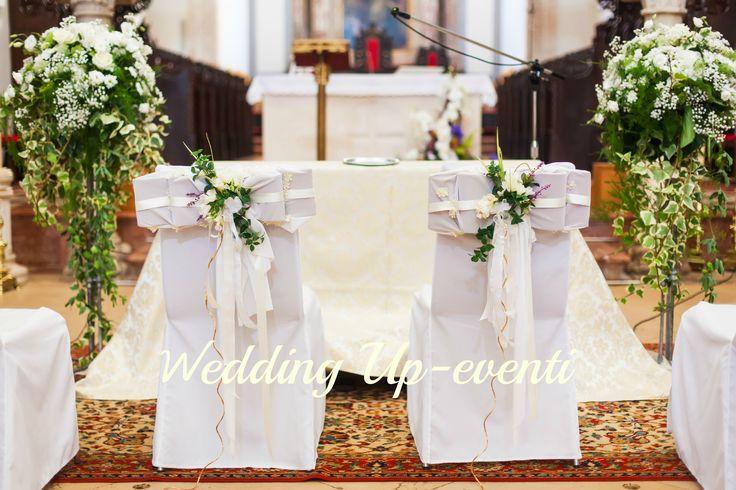 Bianco e verde per gli sposi