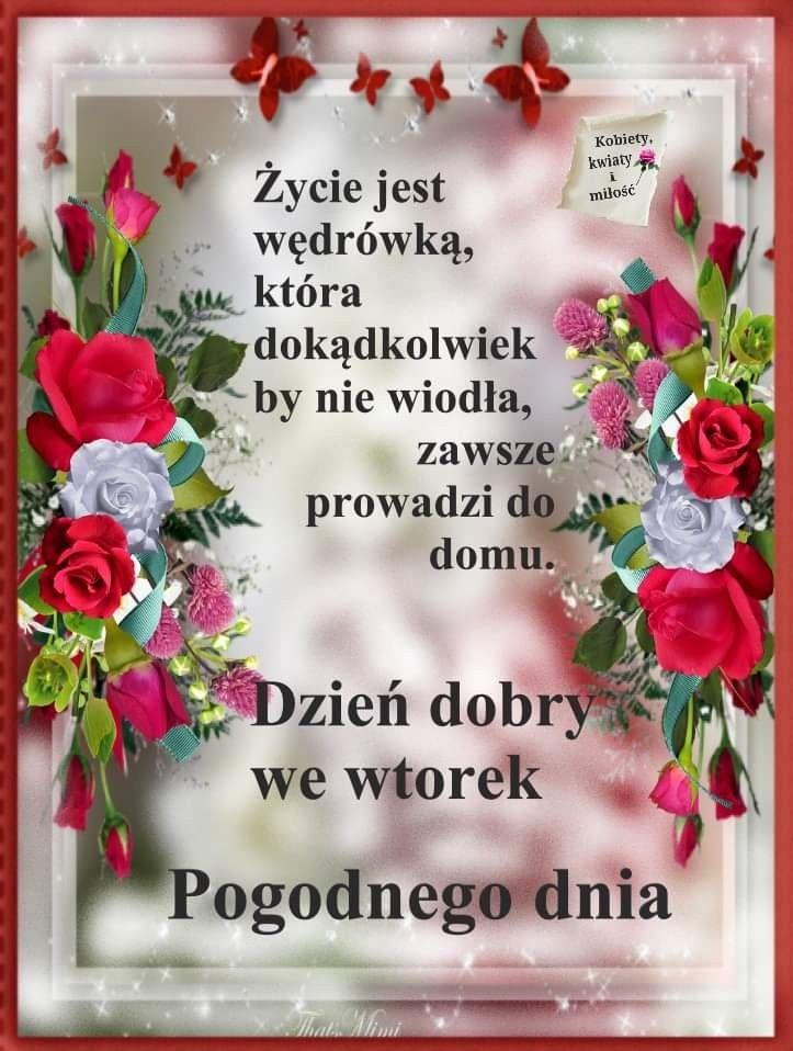 Pin By Wanda Swoboda On Wtorek Good Morning
