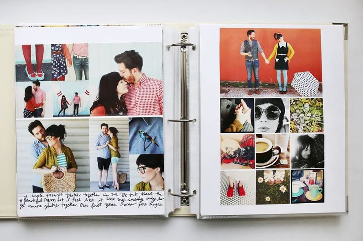 A nice way to do photo albums to remember specific days - take significant memories, displaying your favourites as a larger image and sights you saw around the page. I personally would add a couple of quotes, funny things that happened that day, lessons learnt, places that you'd like to visit again etc. Memories fade, and this way, you can remember more about your favourite days.