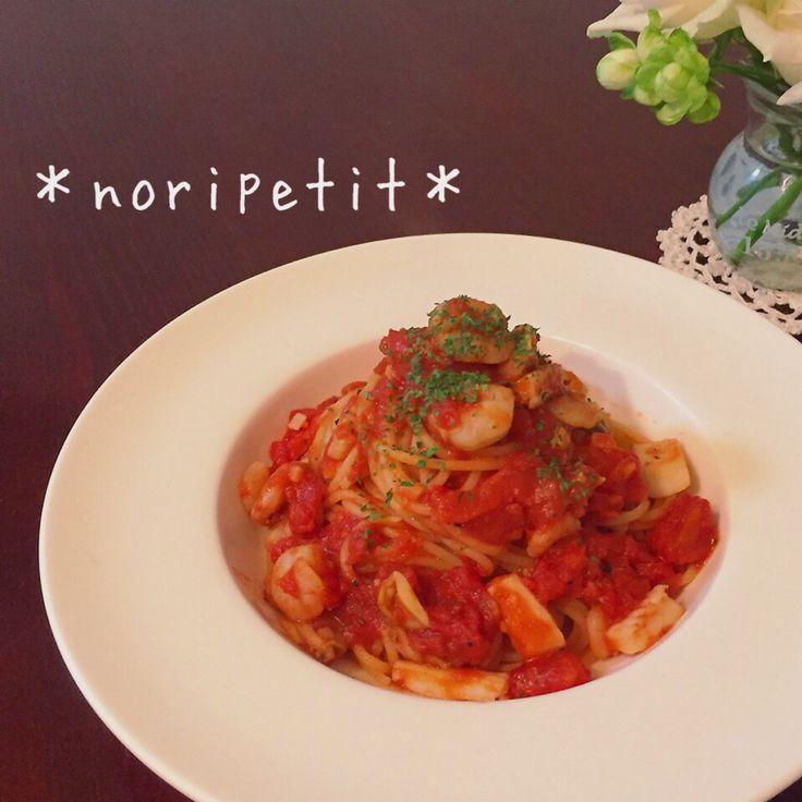 シーフードミックスde簡単♡ペスカトーレ by noripetit 【クックパッド】 簡単おいしいみんなのレシピが282万品