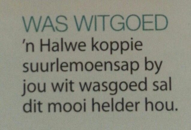Wit wasgoed