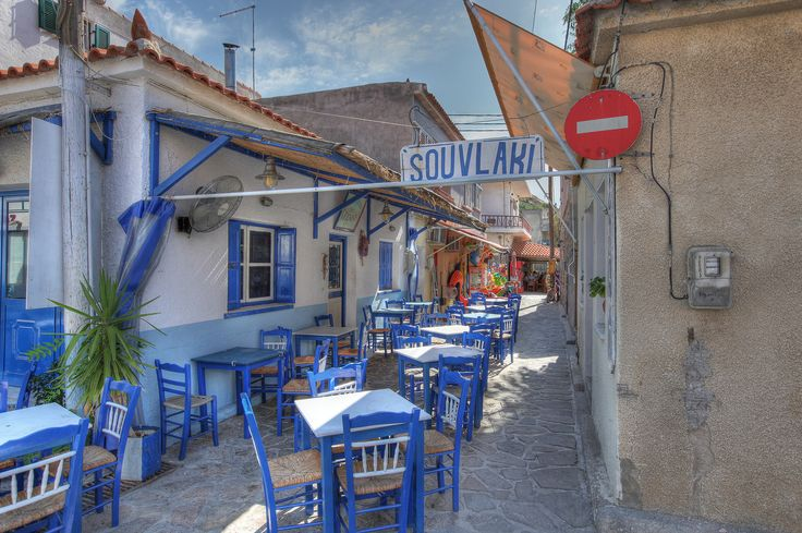 Taverna Souvlaki in Skala Eresos on Lesvos - gorgeous little seaside resort town - hidden gem!